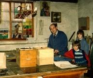 1989 - Z synami Patrykiem i Przemkiem