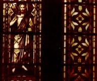1983 Rąpin Renowacja witraży w kościele w Rąpinierenowacja