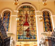 2010 - Licheń Witraż do kaplicy różańcowej w sanktuarium w Licheniu