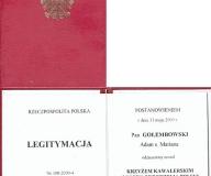 Krzyż Kawalerski Orderu Odrodzenia Polski