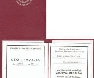 Złoty i Srebrny Medal Jana Kilińskiego