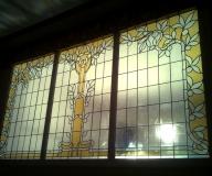 2011 - Gorzów Wlkp Renowacja witraży w pałacu biskupim